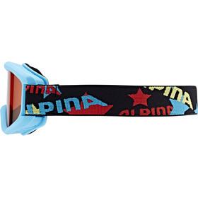 Alpina Carvy 2.0 - Gafas de esquí Niños - Turquesa